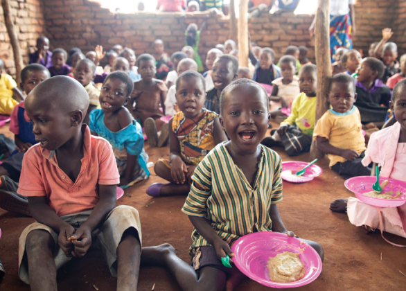 Year of food for child orphaned by AIDS
