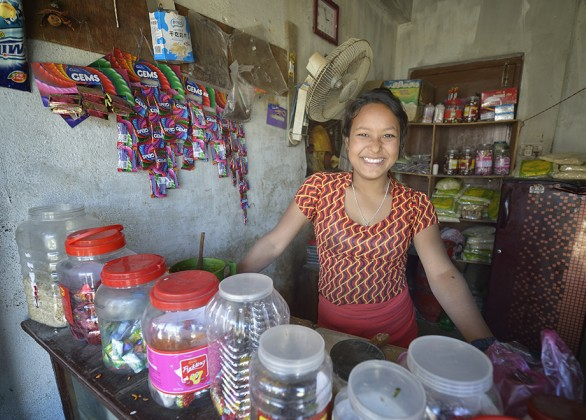 Microloan for a woman